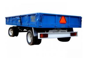 Ρυμούλκα μεταφοράς αγροτικών προϊόντων 10t.